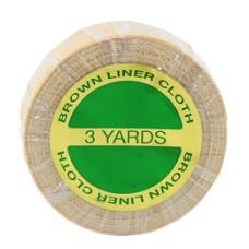 "German Brown Liner Cloth 3/4""x3 Yard Tape Roll (TT-50) by www.precisionhairplus.com.au"
