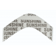 Sunshine No-Residue Tape A Contour (36 pieces)